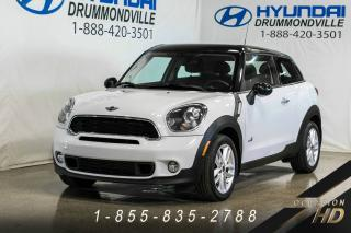Used 2014 MINI Cooper Paceman S + ALL4 + PANO + SIÈGES CHAUFF. for sale in Drummondville, QC