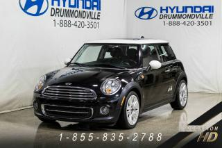 Used 2011 MINI Cooper HARDTOP + CUIR + FOGS for sale in Drummondville, QC
