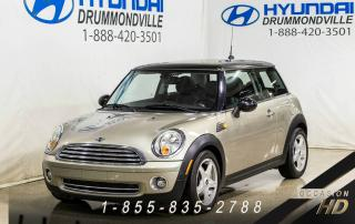 Used 2009 MINI Cooper HARDTOP + TOIT + CUIR + FOGS for sale in Drummondville, QC
