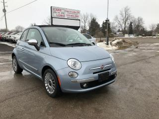 Used 2013 Fiat 500 Lounge for sale in Komoka, ON