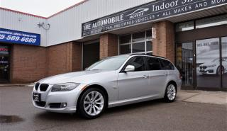 Used 2011 BMW 328xi 328i xDrive WAGON PANO AWD Executive NO ACCIDENT for sale in Mississauga, ON