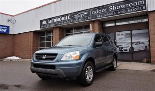 Used 2005 Honda Pilot LX 8 PASSENGERS NO ACCIDENT for sale in Mississauga, ON