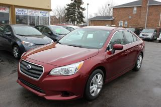 Used 2015 Subaru Legacy 2.5i AWD for sale in Brampton, ON
