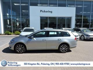 Used 2015 Volkswagen Golf Wagon HIGHLINE for sale in Pickering, ON