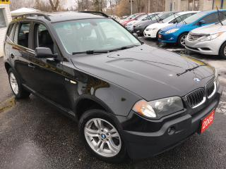 Used 2005 BMW X3 3.0I / Auto / Leather / Alloys / AWD / Like NEW!! for sale in Scarborough, ON
