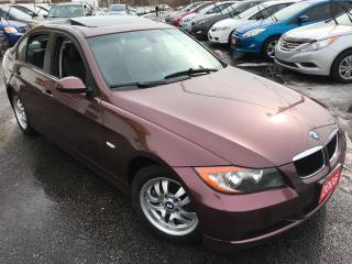 Used 2006 BMW 3 Series 323i / Auto / Leather / Sunroof / Heated Seats!! for sale in Scarborough, ON