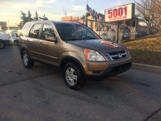 Used 2004 Honda CR-V EXL,AWD,AUTO,SAFETY+3YEARS WARRANTY INCLUDED for sale in North York, ON