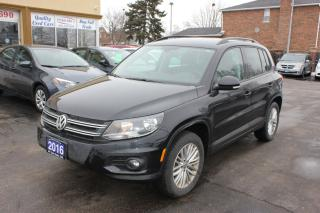 Used 2016 Volkswagen Tiguan Comfortline Backup Cam Heated Seats for sale in Brampton, ON