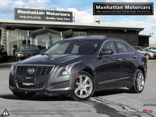 Used 2014 Cadillac ATS 4 2.0T AWD |BLUETOOTH|CAMERA|SUNROOF|WARRANTY for sale in Scarborough, ON