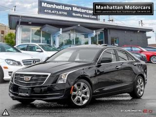 Used 2015 Cadillac ATS 2.0T PREMIUM |ROOF|CAMERA|NOACCIDENT|WARRANTY for sale in Scarborough, ON