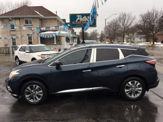 Used 2016 Nissan Murano SL for sale in Dunnville, ON