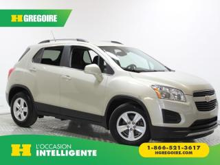 Used 2014 Chevrolet Trax LT A/C BLUETOOTH for sale in St-Léonard, QC