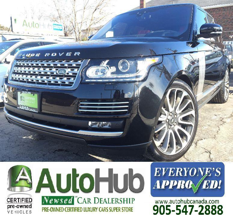 Used 2017 Land Rover Range Rover AUTOBIOGRAPHY SUPERCHARGE