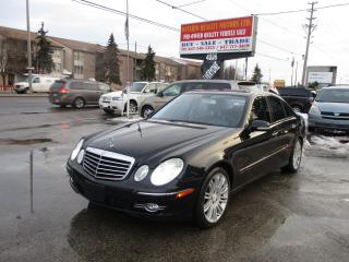 Used 2008 Mercedes-Benz E550 5.5L for sale in Toronto, ON