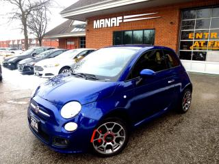 Used 2014 Fiat 500 Sport Leather Mint Cond CERTIFIED for sale in Concord, ON