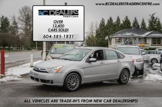 Used 2009 Ford Focus SES, Bluetooth, Leather, Sunroof, Low Km's! for sale in Surrey, BC