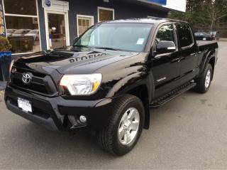 Used 2015 Toyota Tacoma Double Cap for sale in Parksville, BC