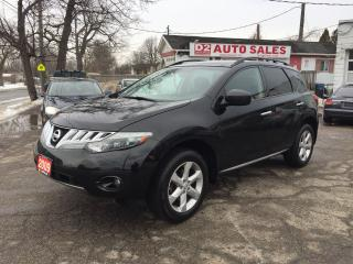 Used 2009 Nissan Murano SL/2 Sunroofs/Bluetooth/2YR Warranty/AWD/Certified for sale in Scarborough, ON