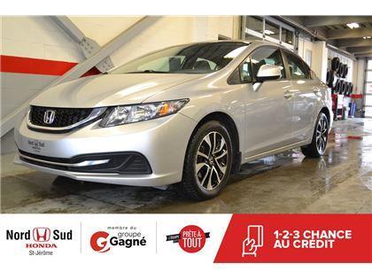 Honda Nord Sud >> Used 2013 Honda Civic Ex For Sale In Saint Jerome Quebec
