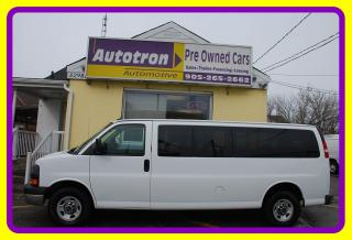 Used 2015 GMC Savana 3500 Extended, 15 Pass. Van, Fully Loaded for sale in Woodbridge, ON