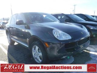 Used 2004 Porsche Cayenne S 4D Utility AWD for sale in Calgary, AB