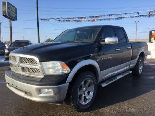 Used 2012 RAM 1500 LARAMIE * 4WD * LEATHER * NAV * REAR CAM * BLUETOOTH for sale in London, ON
