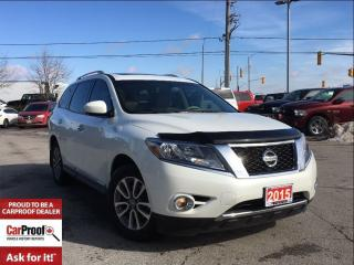 Used 2015 Nissan Pathfinder SL**LOW KM'S!!!**POWER SUNROOF**NAVIGATION** for sale in Mississauga, ON