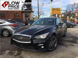 Used 2015 Infiniti Q50 Sport*Navi*Cam*BlindSpot*Hybrid&Warranty* for sale in York, ON