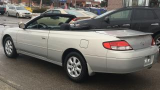 Used 2001 Toyota Solara Convertible SLE .get ready for the summer for sale in North York, ON