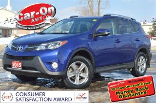 Used 2015 Toyota RAV4 XLE AWD SUNROOF HTD SEATS REAR CAM LOADED for sale in Ottawa, ON