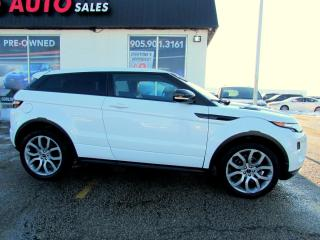 Used 2012 Land Rover Evoque Dynamic Premium Coupe Navigation Camera Certified 2YR for sale in Milton, ON