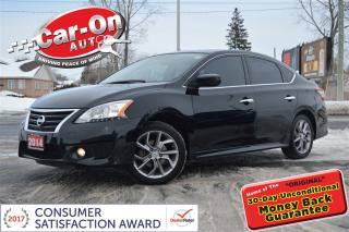 Used 2014 Nissan Sentra 1.8 SR NAV SUNROOF HTD SEATS REAR CAM BOSE ALLOYS for sale in Ottawa, ON