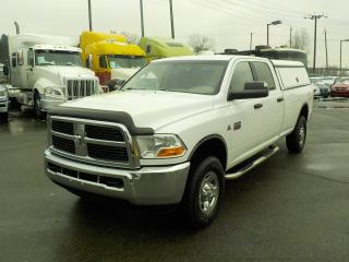 Used 2012 Dodge Ram 3500 SLT Crew Cab Long Box 4WD Diesel with Service Canopy for sale in Burnaby, BC