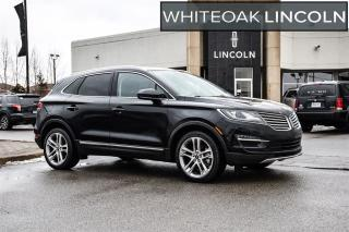 Used 2017 Lincoln MKC Reserve..9%24 MOS-2.9% 72 MOS for sale in Mississauga, ON