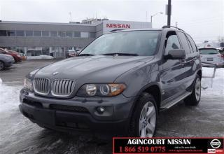 Used 2006 BMW X5 4.4i |AS-IS SUPERSAVER| for sale in Scarborough, ON
