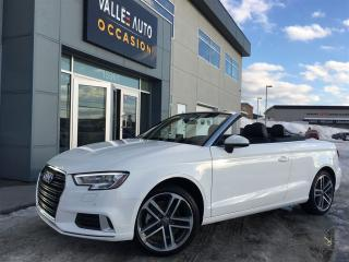 Used 2017 Audi A3 2.0T Progressiv for sale in Saint-georges, QC