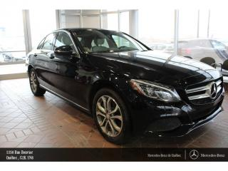 Used 2016 Mercedes-Benz C-Class C300 Awd, Volant Ch for sale in Quebec, QC