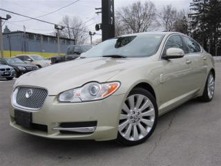 Used 2009 Jaguar XF PREMIUM LUXURY ~ 46KMS ONLY ~ NAVIGATION !!! for sale in Burlington, ON