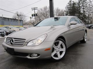 Used 2006 Mercedes-Benz CLS-Class CLS 500 ~ ONE OWNER ~ 143KMS ~ NAVI !!! for sale in Burlington, ON
