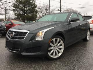 Used 2014 Cadillac ATS 2.0L Turbo Luxury AWD RED LEATHER MOONROOF for sale in St Catharines, ON