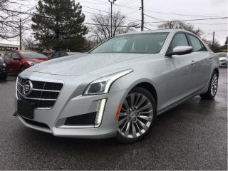 Used 2014 Cadillac CTS 2.0L Turbo Luxury AWD LEATHER COOLED SEATS PANROOF for sale in St Catharines, ON