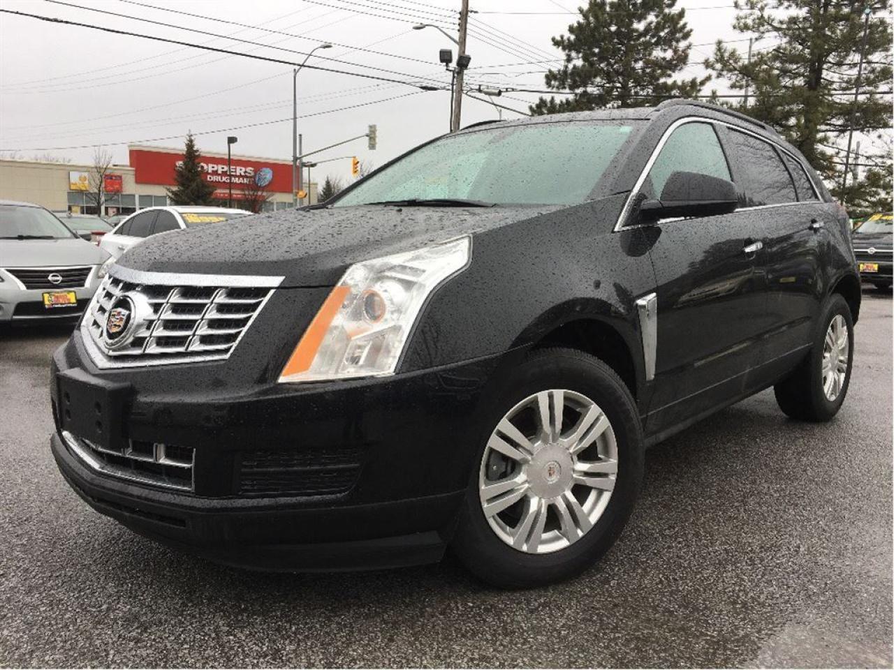 2014 Cadillac SRX LEATHER HEATED FRONT SEATS BIGSCREEN RADIO