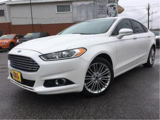 Used 2014 Ford Fusion SE LEATHER NAVIGATION MOONROOF for sale in St Catharines, ON