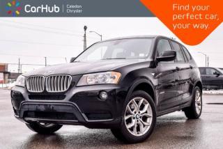 Used 2014 BMW X3 xDrive28i|Navi|Backup Cam|Bluetooth|Heated Front Seats|18