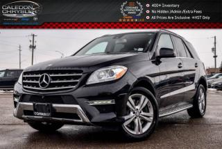 Used 2014 Mercedes-Benz ML-Class ML 350 4Matic|Navi|Pano Sunroof|Backup Cam|Bluetooth|19