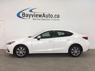 Used 2014 Mazda MAZDA3 GX- 6 SPEED|SKYACTIV|A/C|BLUETOOTH|LOW KM! for sale in Belleville, ON