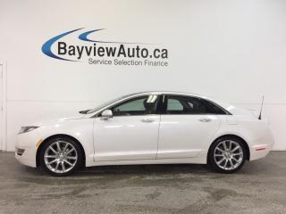 Used 2014 Lincoln MKZ - HYBRID|REM STRT|PANOROOF|HTD/AC LTHR|SYNC|BLIS! for sale in Belleville, ON