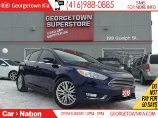 Used 2016 Ford Focus Titanium | NAVI | B/U CAM | LEATHER for sale in Georgetown, ON