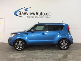 Used 2016 Kia Soul SX- ALLOYS|HTD/AC LTHR|INFINITY|BLUETOOTH|LDW! for sale in Belleville, ON