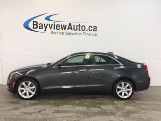 Used 2015 Cadillac ATS - AWD|TURBO|HTD LTHR|BLUETOOTH|BOSE|CRUISE|LOW KM! for sale in Belleville, ON